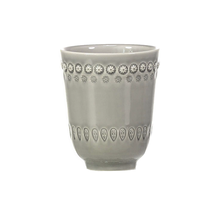Mugg Daisy-Soft Grey