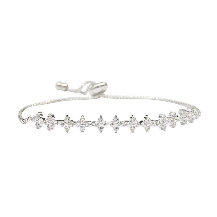 GLIMMER ARMBAND SNOW