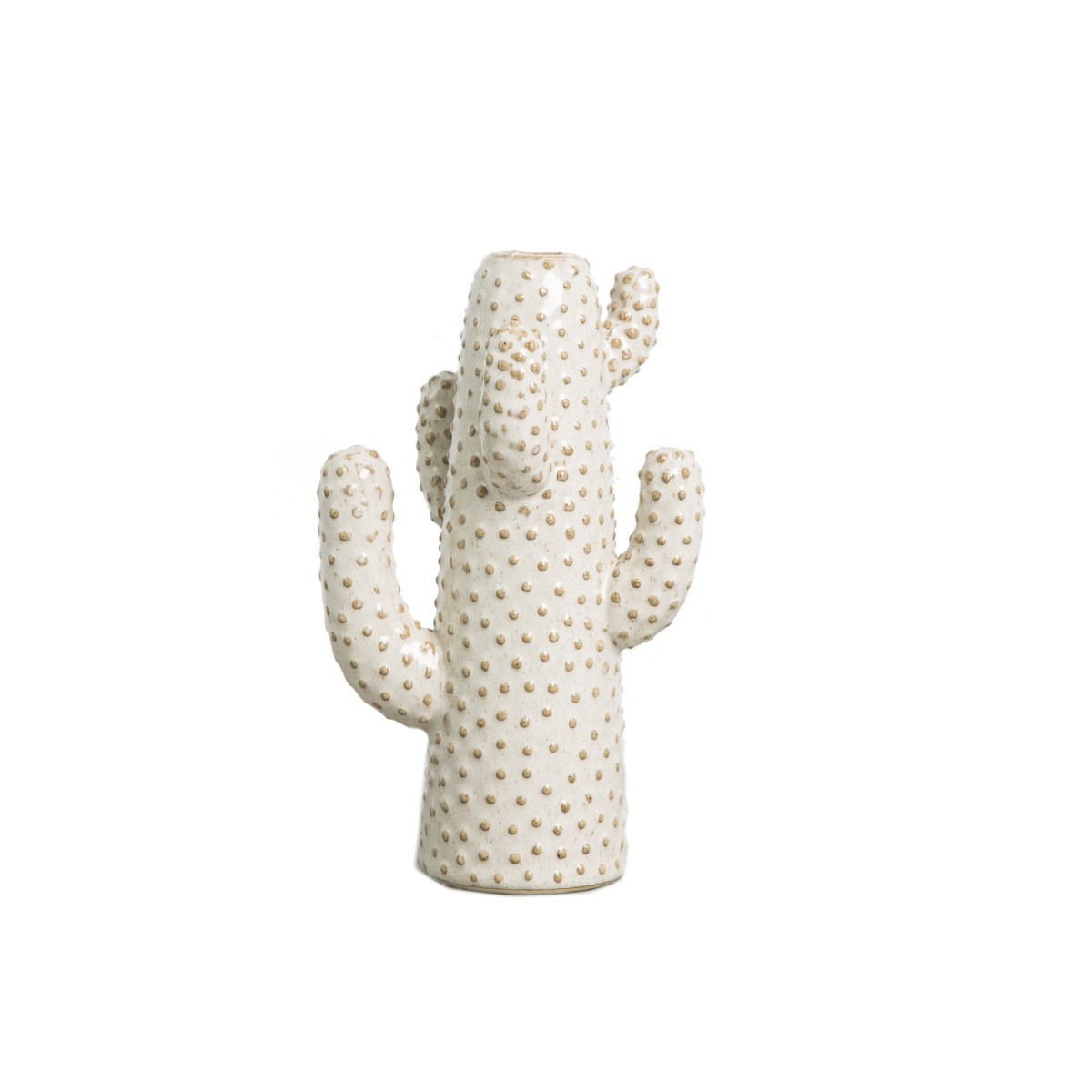 CANDLE HOLDER CACTUS ASPARAGUS
