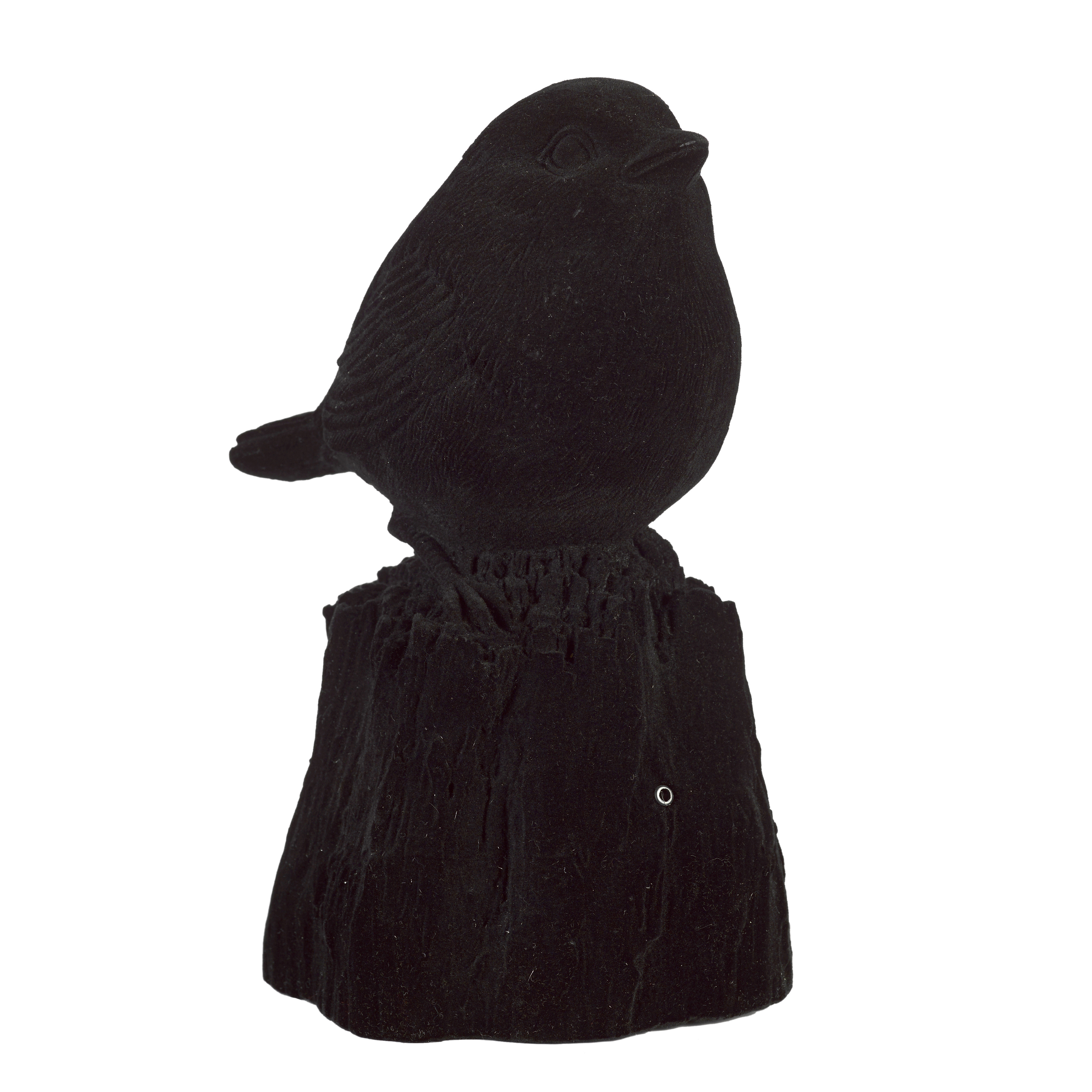 SINGING BIRD VELVETY BLACK L