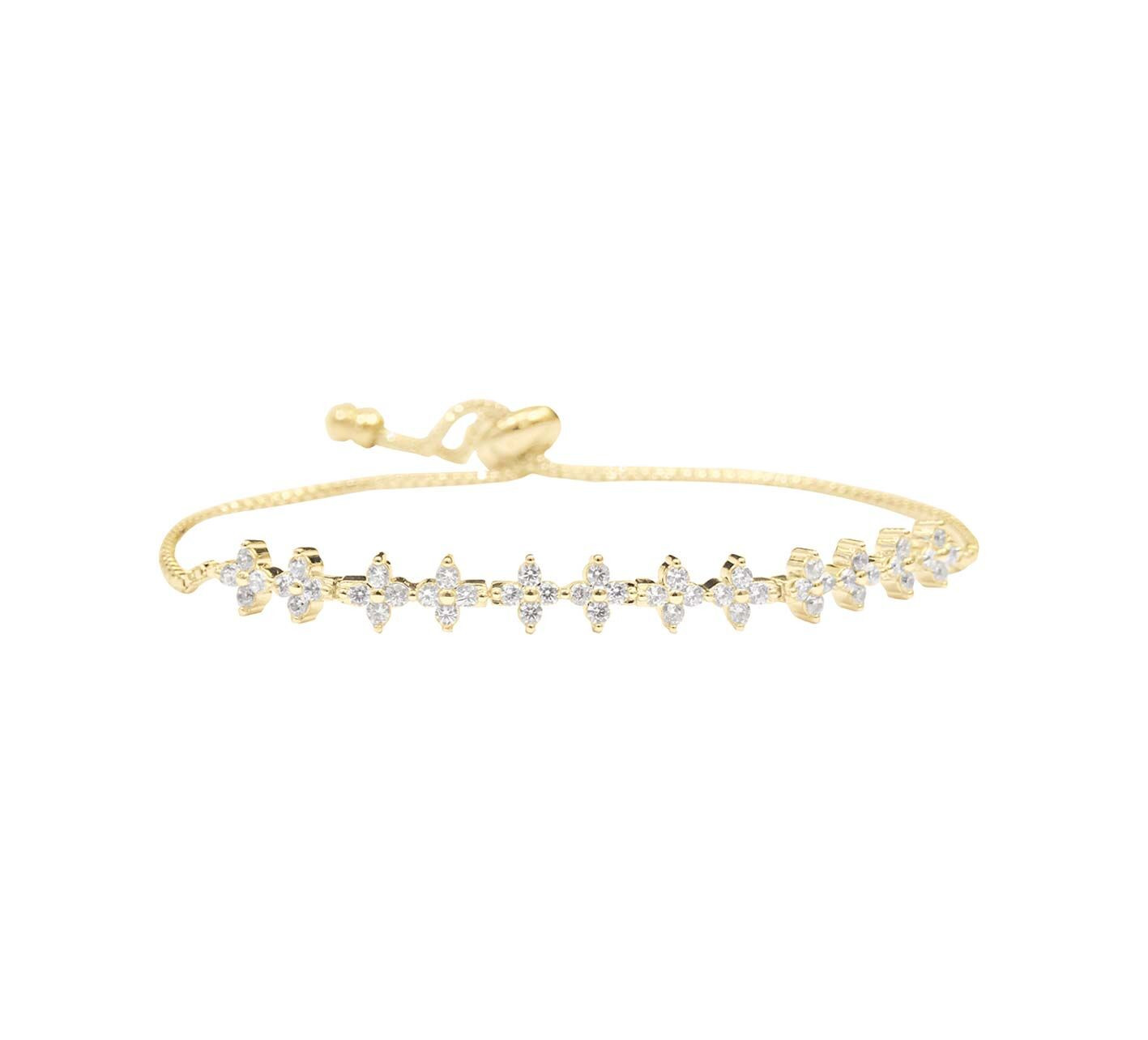 GLIMMER ARMBAND GOLDEN SNOW