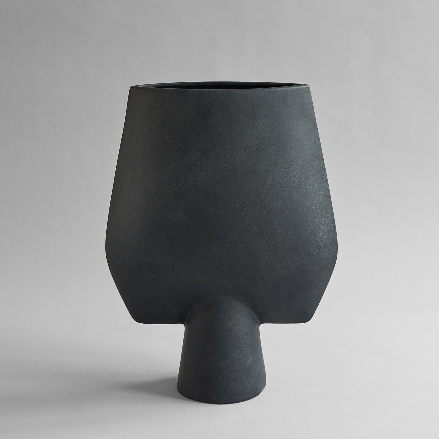 Sphere Vase Square, Hexa - Black