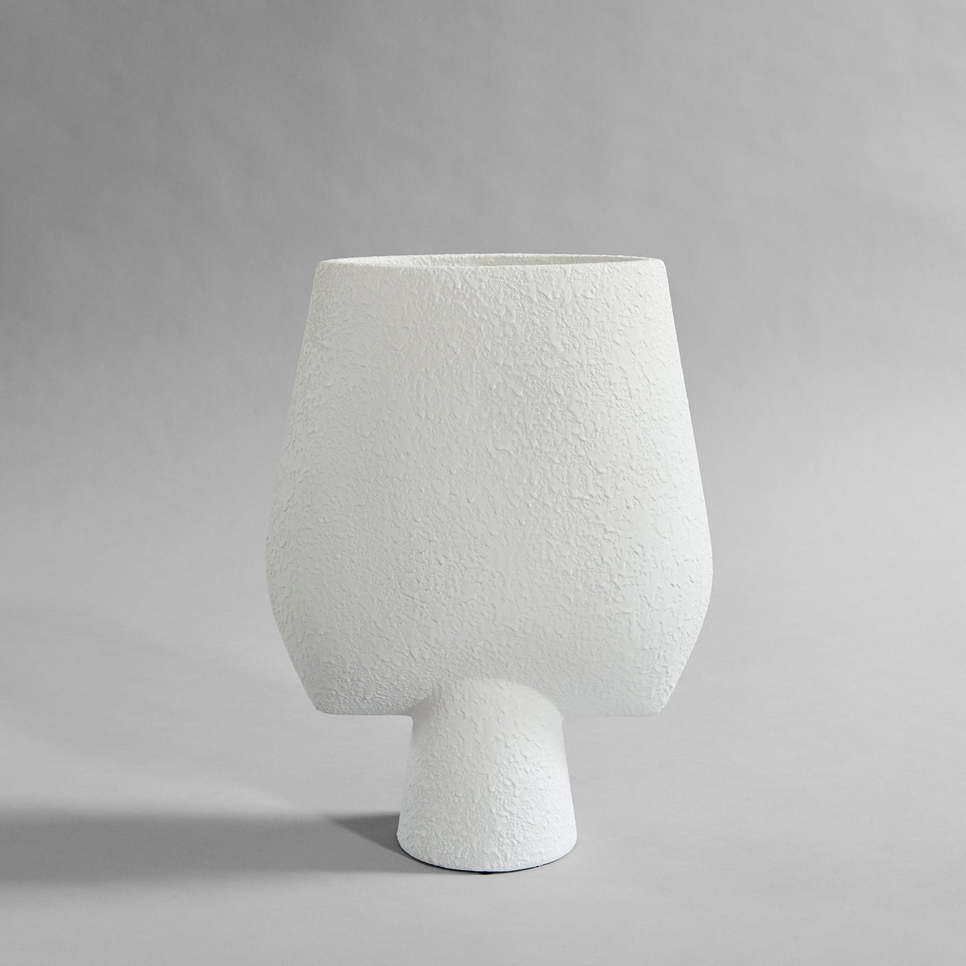 Sphere Vase Square, Big - Bubble White