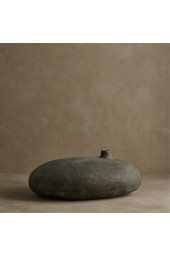 Submarine Vase, Fat - Dark Grey