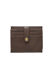 STILE CARD HOLDER BROWN
