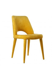 Chair holy velvet yellow