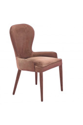 Chair aunty velvet nude pink