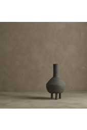 Duck Vase, Fat - Dark grey