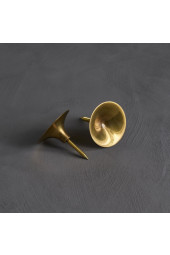 HiHat Knobs, Maxi - Brass, 2 set