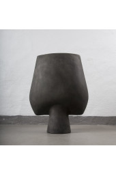 Sphere Vase Square Big - Dark Grey