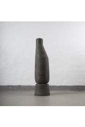 Sphere Vase Tall - Dark Grey