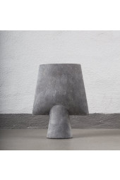 Sphere Vase Square Mini - Light Grey