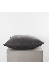 Exist Cushion, Cotton Velvet, 160x55cm - Dark Grey