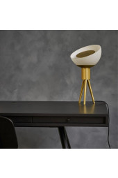 Moonraker Table Lamp, Brass
