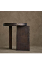 Neo Side Table - Burned Black