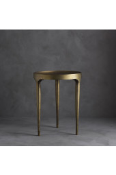 Phantom Coffee Table, Tall - Brass Antique