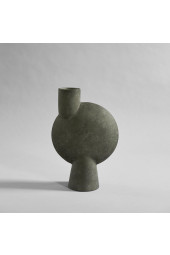 Sphere Vase Bubl, Big - Dark Grey