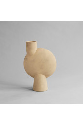 Sphere Vase Bubl, Big - Sand