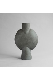 Sphere Vase Bubl, Hexa - Dark Grey