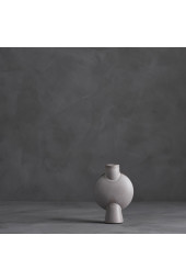 Sphere Vase Bubl Mini - Grey Glazed