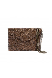 Gala Evening Clutch Brown